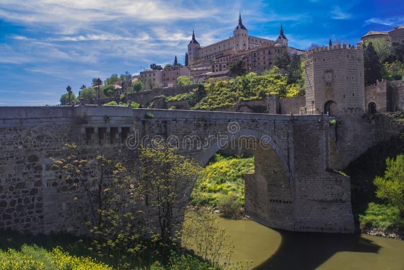 Puente del ntara del ¡de Alcà - Toledo, España fotografía de archivo libre de regalías