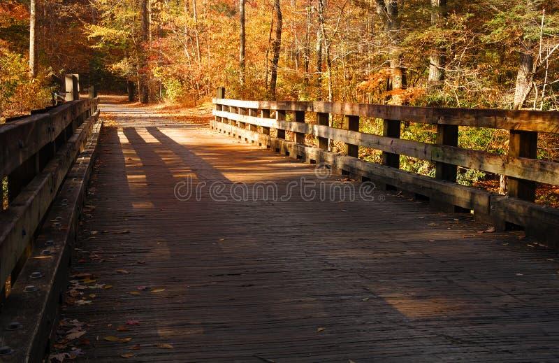 Puente del país foto de archivo