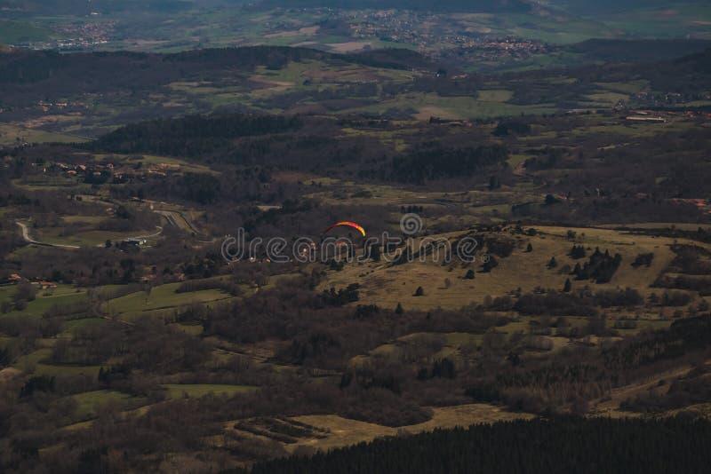 Puente del paracaidista fotografía de archivo libre de regalías