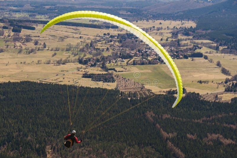 Puente del paracaidista imagen de archivo libre de regalías