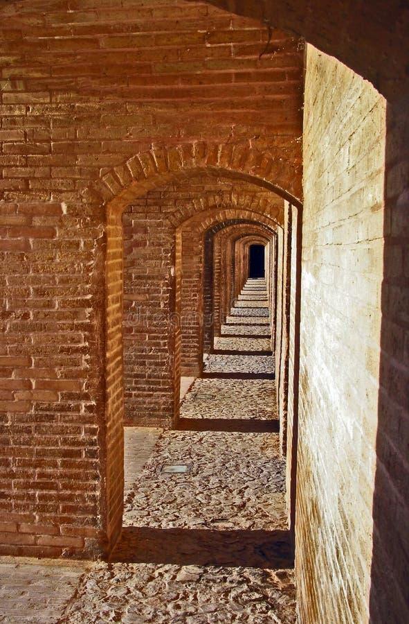 Puente del político del SE del Si o, Esfahan imagenes de archivo