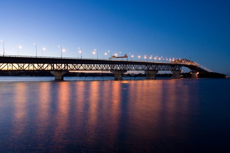Puente del puerto de Auckland imagen de archivo