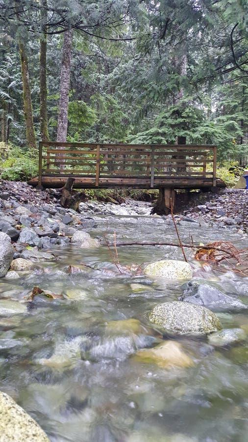 Puente del río fotos de archivo libres de regalías