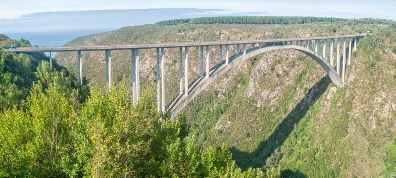 Puente del río de Bloukrans foto de archivo