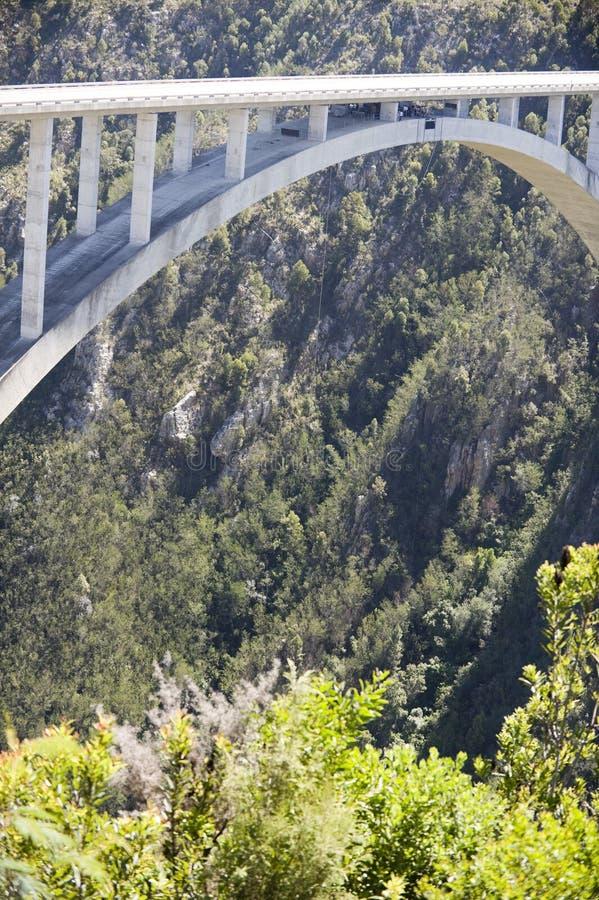 Puente del río de Bloukrans imagenes de archivo
