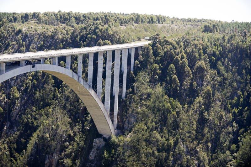 Puente del río de Bloukrans fotografía de archivo libre de regalías