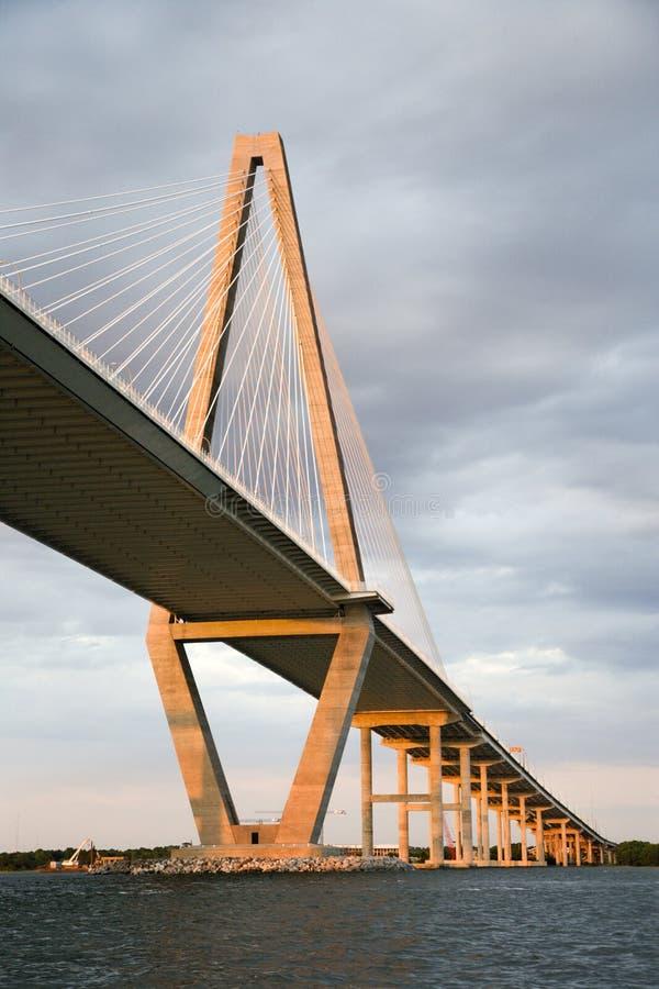 Puente del río del fabricante de vinos imagen de archivo libre de regalías