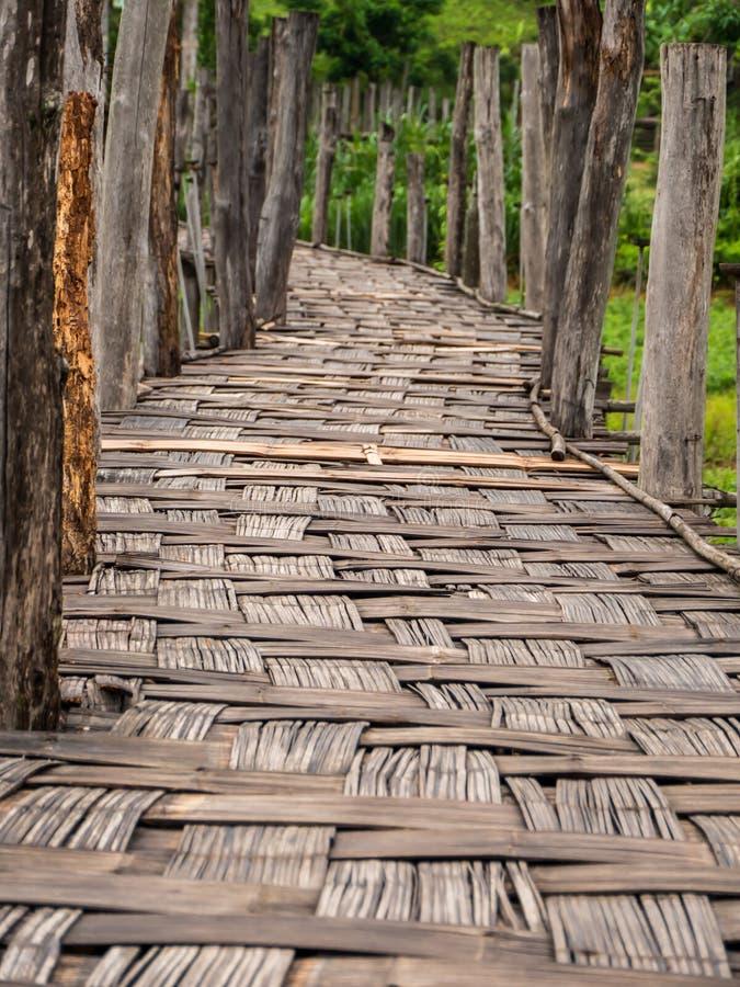 Puente del Su Tong Pae foto de archivo