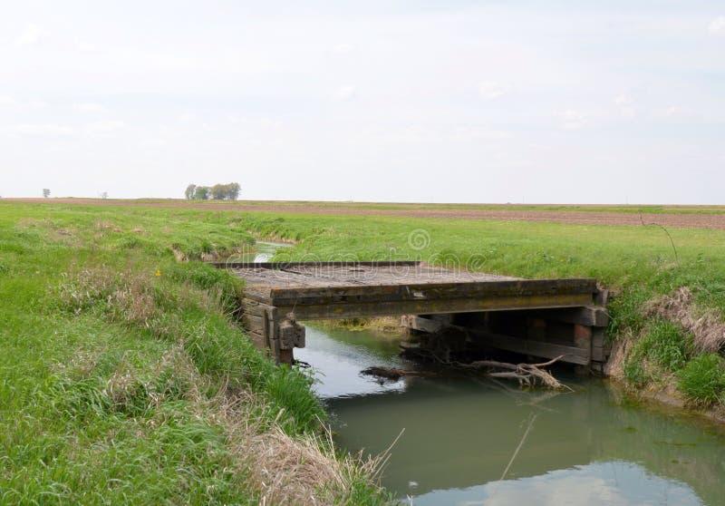 Puente del tractor fotos de archivo