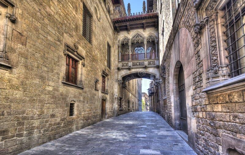 Puente en Barcelona fotos de archivo libres de regalías