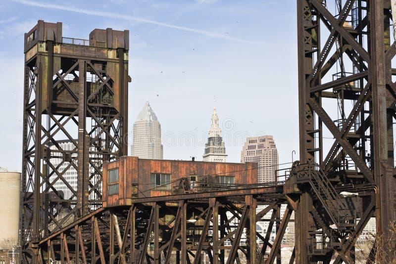 Download Puente En Cleveland Céntrica Foto de archivo - Imagen de céntrico, edificio: 7275952