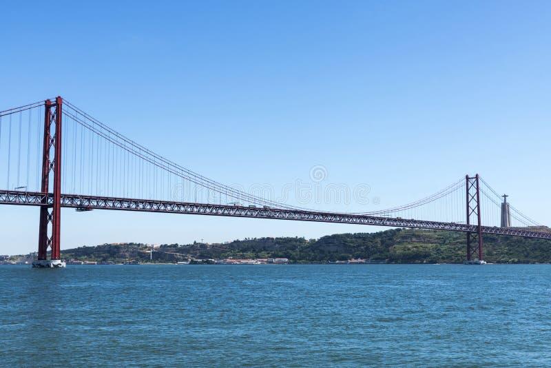Download Puente En El Río Tagus, Lisboa, Portugal Foto de archivo - Imagen de puente, configuración: 44854806