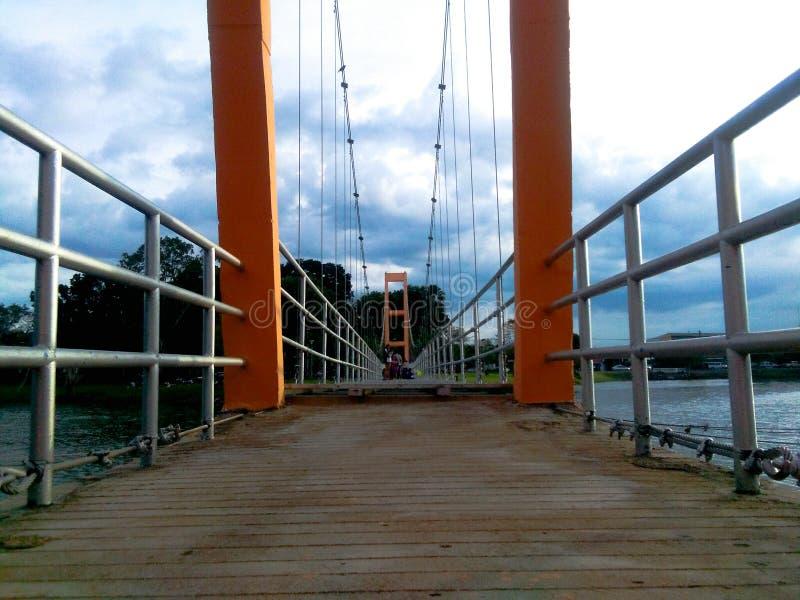Puente en el @Thailand de Trang imagen de archivo libre de regalías