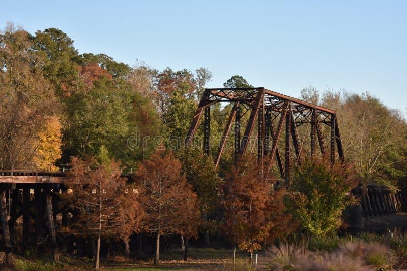 Puente en Jefferson Texas Nov 25 2018 imagenes de archivo