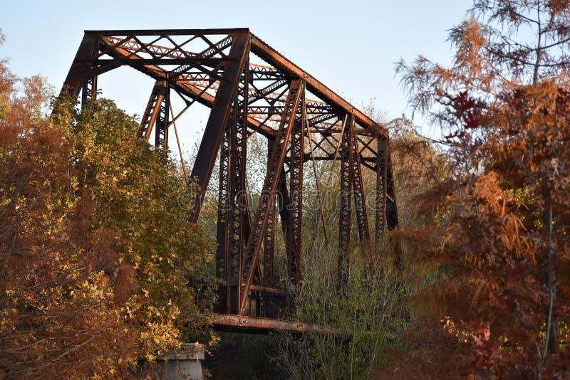 Puente en Jefferson Texas Nov 25 2018 foto de archivo