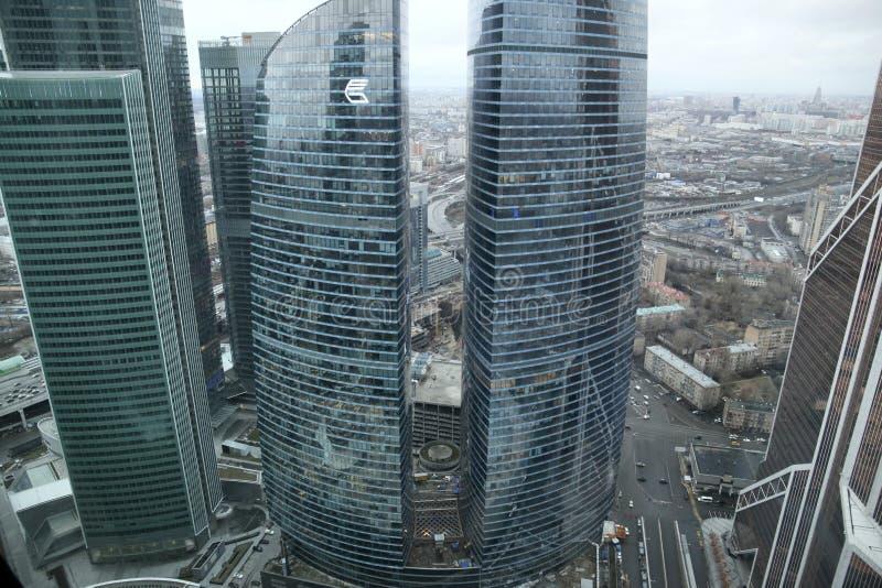 Puente en Moscú imagenes de archivo