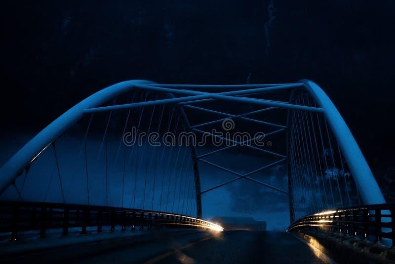 Puente en norway fotografía de archivo libre de regalías