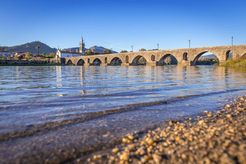 Puente en Ponte de Lima imagenes de archivo
