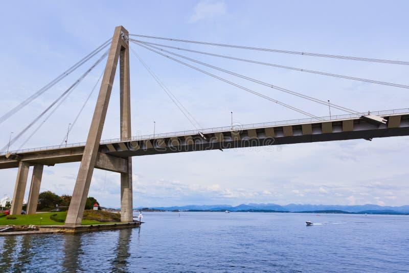 Puente en Stavanger - Noruega imagenes de archivo