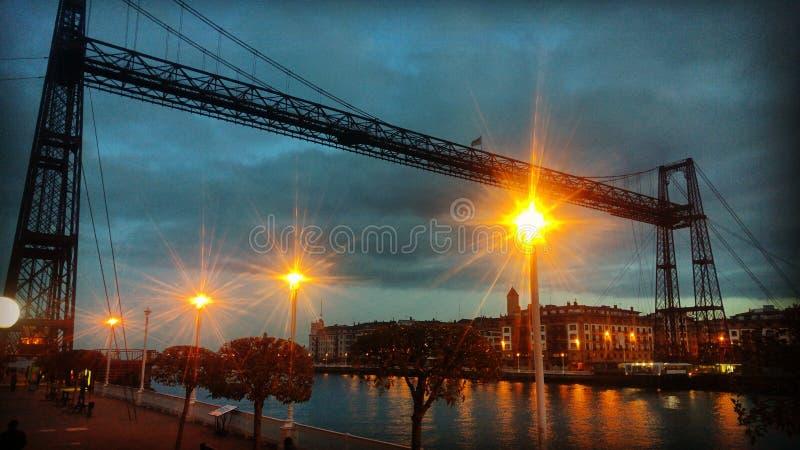 Puente encendido fotos de archivo