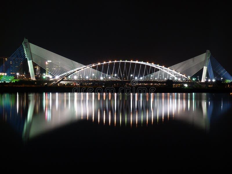 Puente escénico imagen de archivo