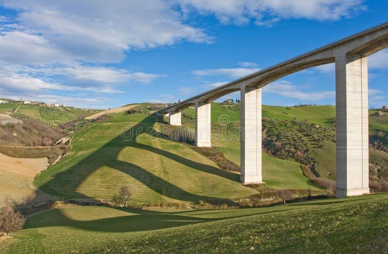 Puente expreso de la manera imagenes de archivo