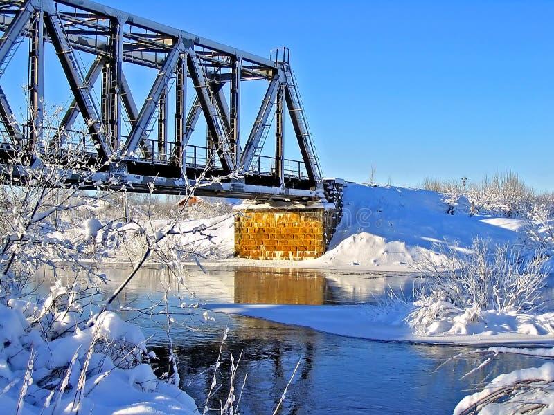Download Puente ferroviario viejo foto de archivo. Imagen de borde - 7151958
