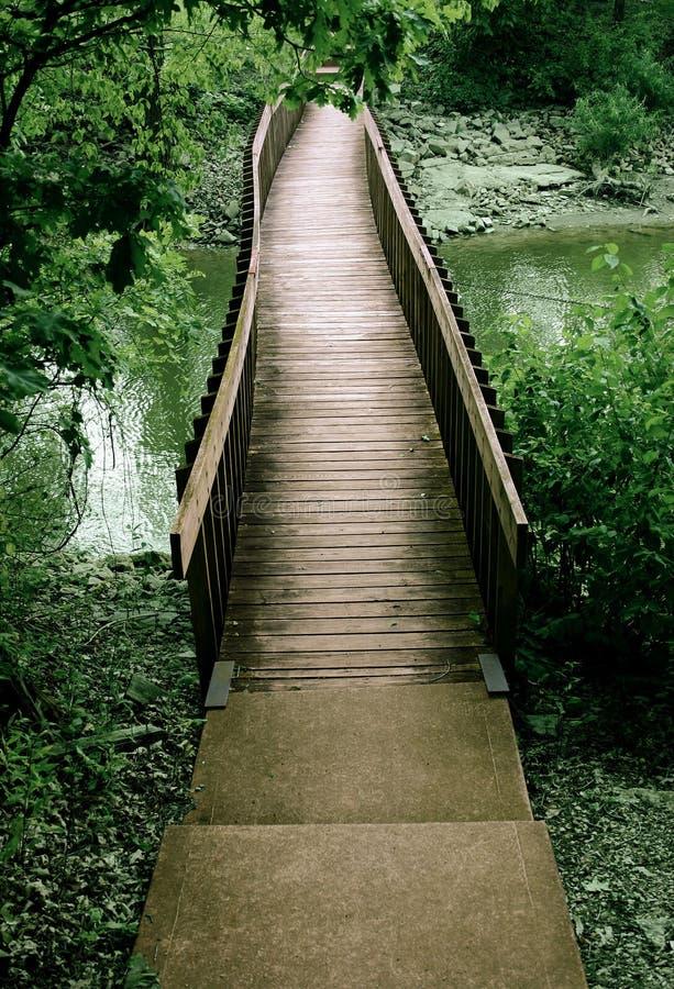 Puente Fuera De Las Maderas Imagen de archivo