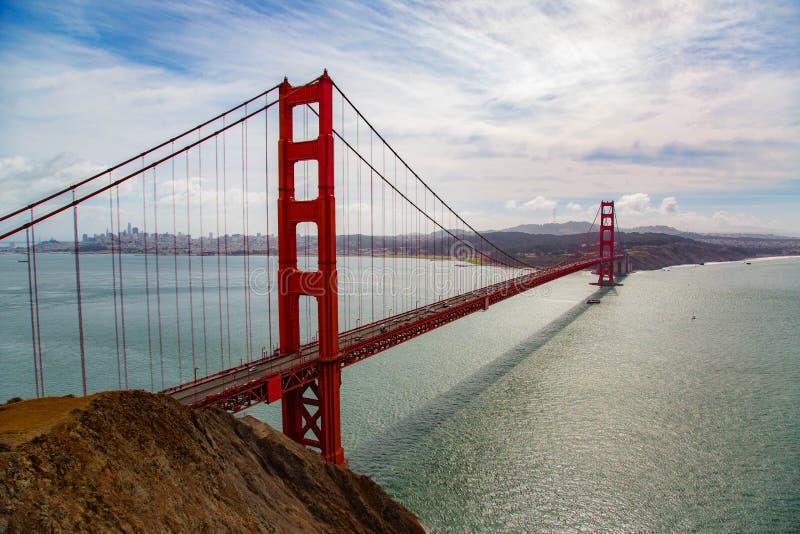 Puente Golden Gate de San Francisco fotos de archivo libres de regalías