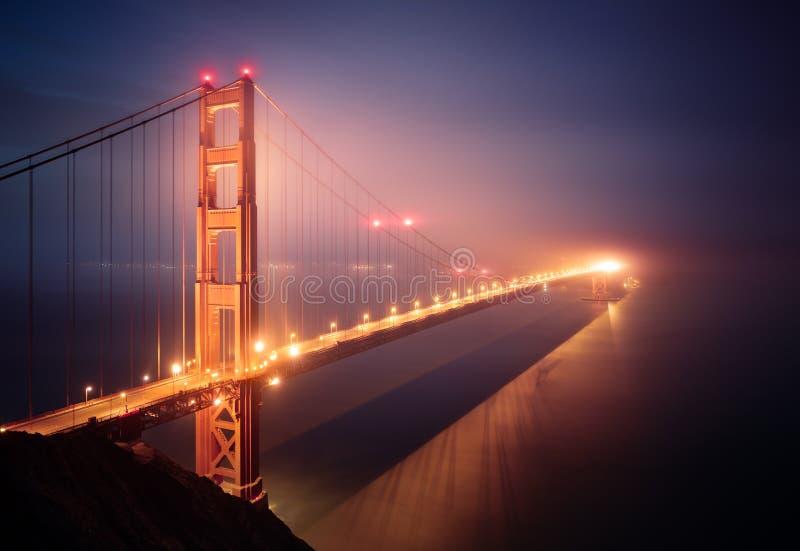 Puente Golden Gate en San Francisco foto de archivo libre de regalías