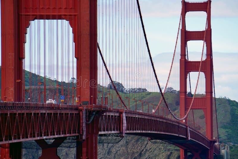 Puente Golden Gate en San Fransisco foto de archivo