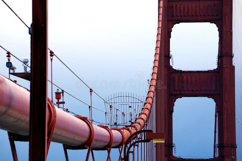 Puente Golden Gate en San Fransisco fotografía de archivo