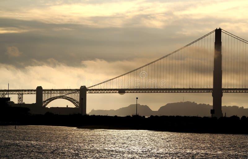 Puente Golden Gate famoso en San Francisco fotos de archivo libres de regalías