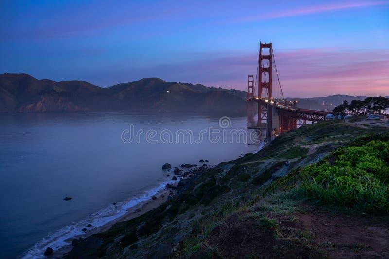 Puente Golden Gate icónico imágenes de archivo libres de regalías