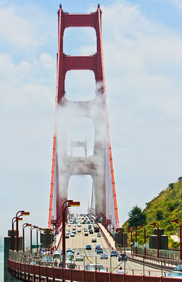 Puente Golden Gate Marin Headlands Sausalito imagen de archivo
