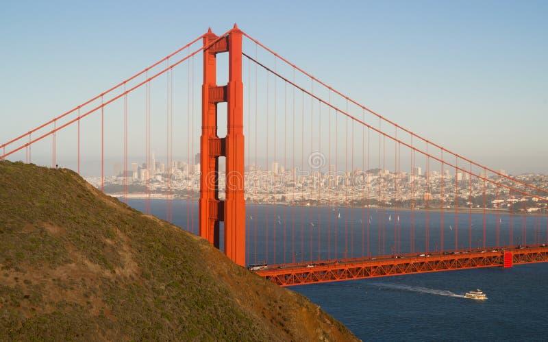 Puente Golden Gate panorámico San Francisco Marin County Headland imágenes de archivo libres de regalías