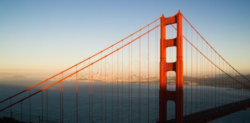 Puente Golden Gate panorámico San Francisco Marin County Headland imagen de archivo libre de regalías