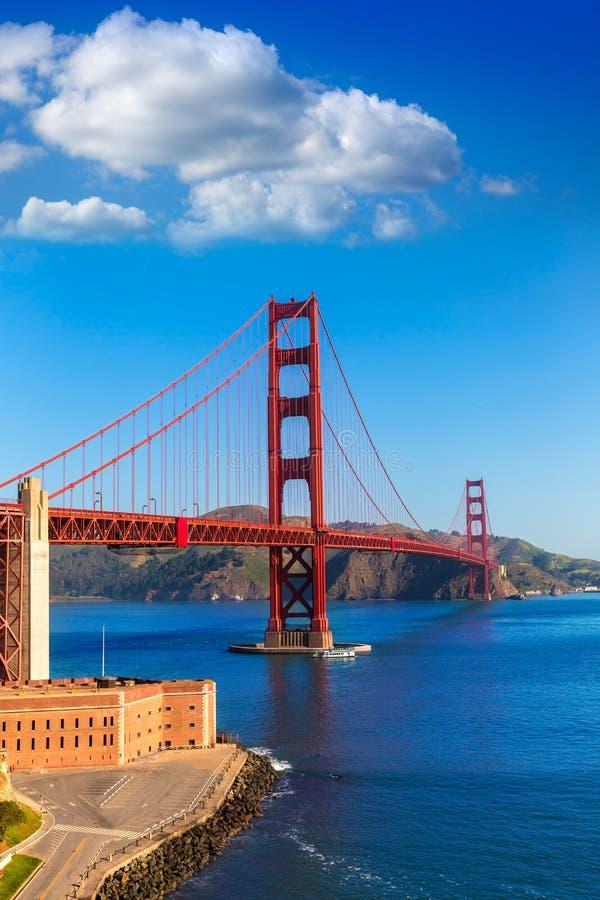 Puente Golden Gate San Francisco de Presidio California fotografía de archivo