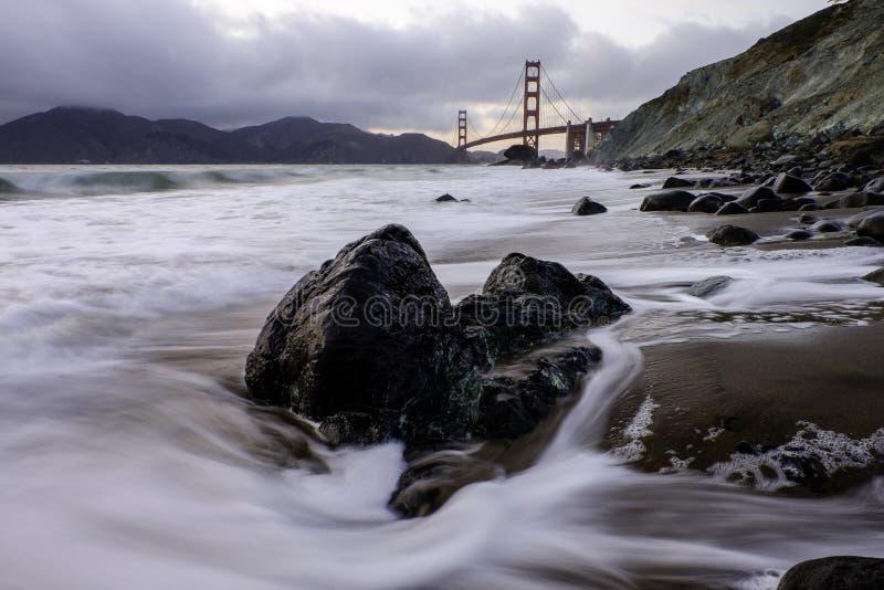 Puente Golden Gate, SF foto de archivo