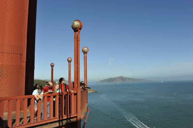 Puente Golden Gate, visión panorámica fotografía de archivo