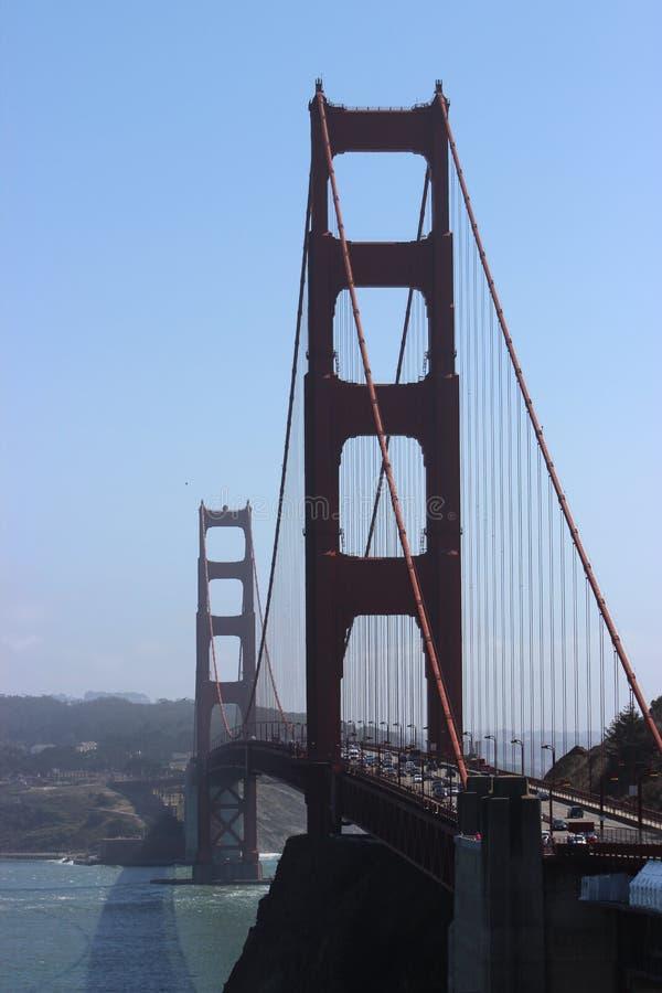 Puente Golden Gate y el Océano Pacífico, San Francisco, punto de Vista imágenes de archivo libres de regalías
