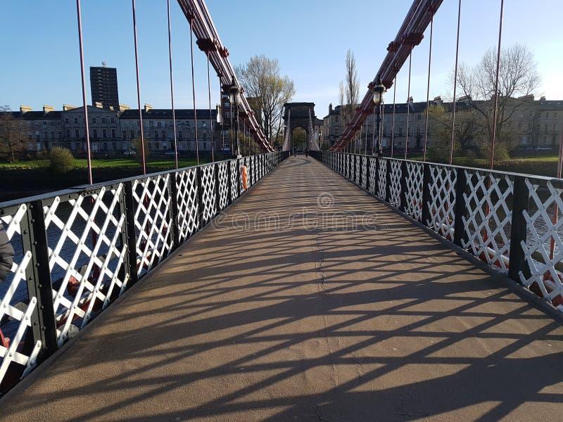 Puente hermoso foto de archivo libre de regalías