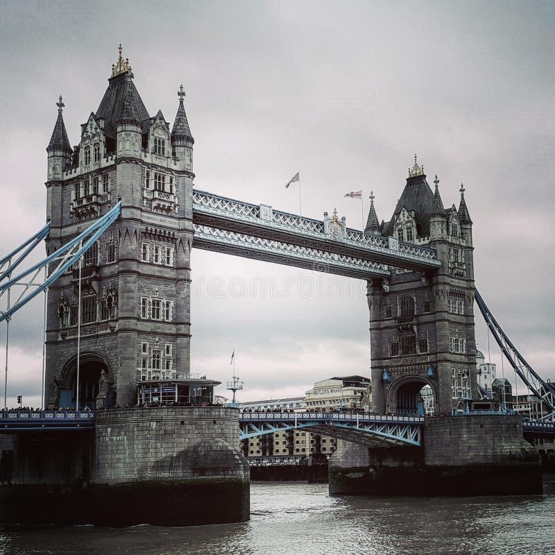 Puente hermoso de Londres del puente de la torre foto de archivo libre de regalías