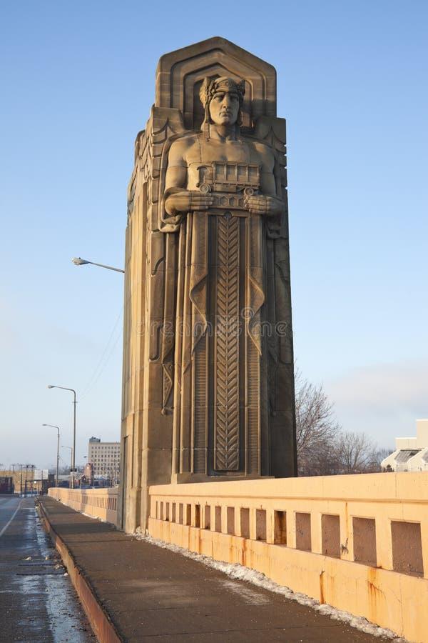 Puente histórico foto de archivo libre de regalías