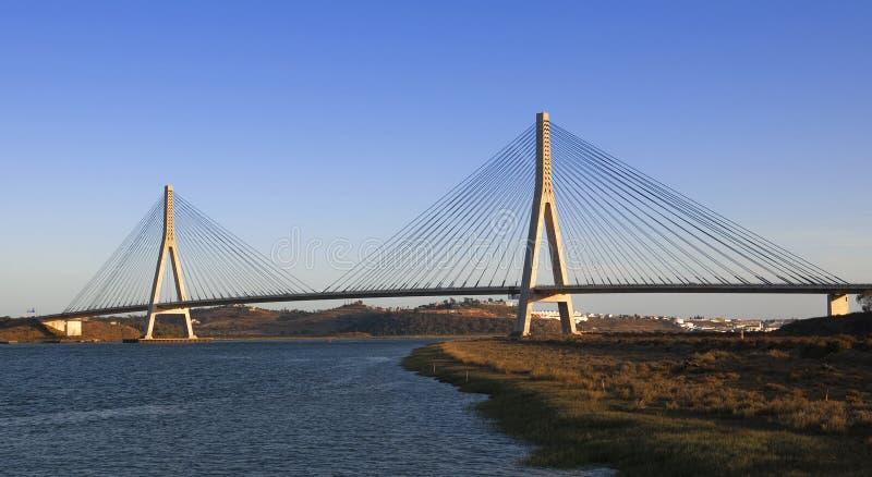 Puente internacional fotos de archivo