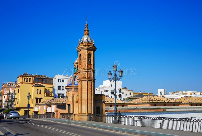 Puente Isabel II bridge in Triana Seville Spain stock photos