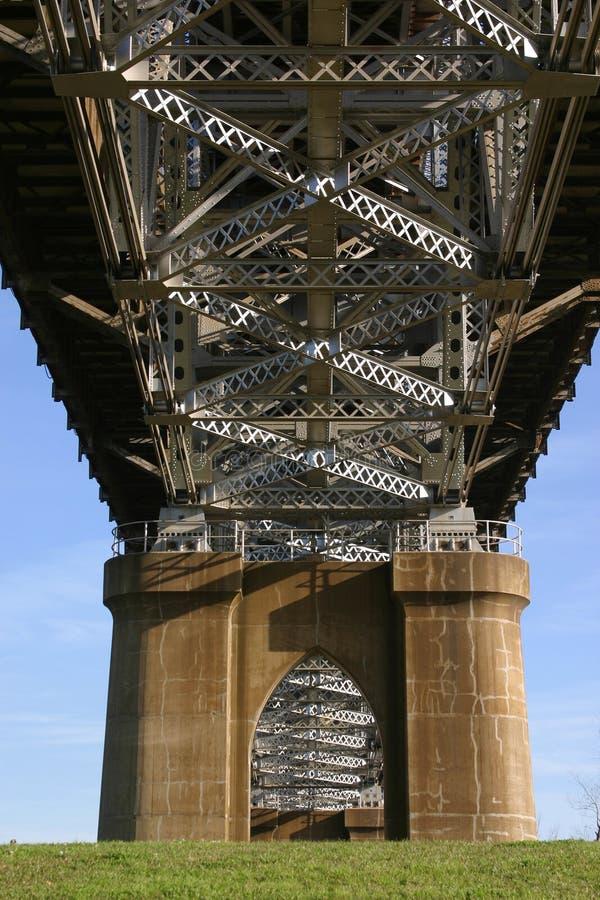 Puente largo de Huey P imágenes de archivo libres de regalías