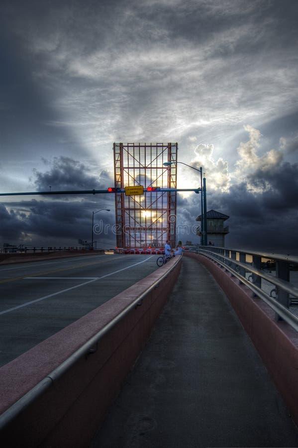 Puente levadizo imagenes de archivo