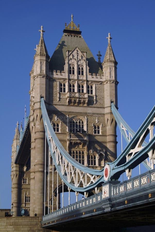 Puente Londres de la torre imágenes de archivo libres de regalías