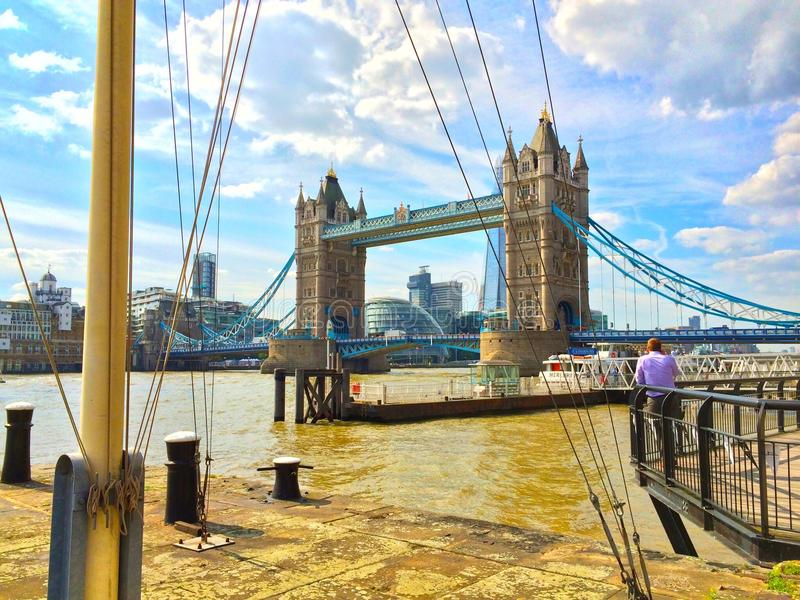 Puente Londres de la torre imagen de archivo
